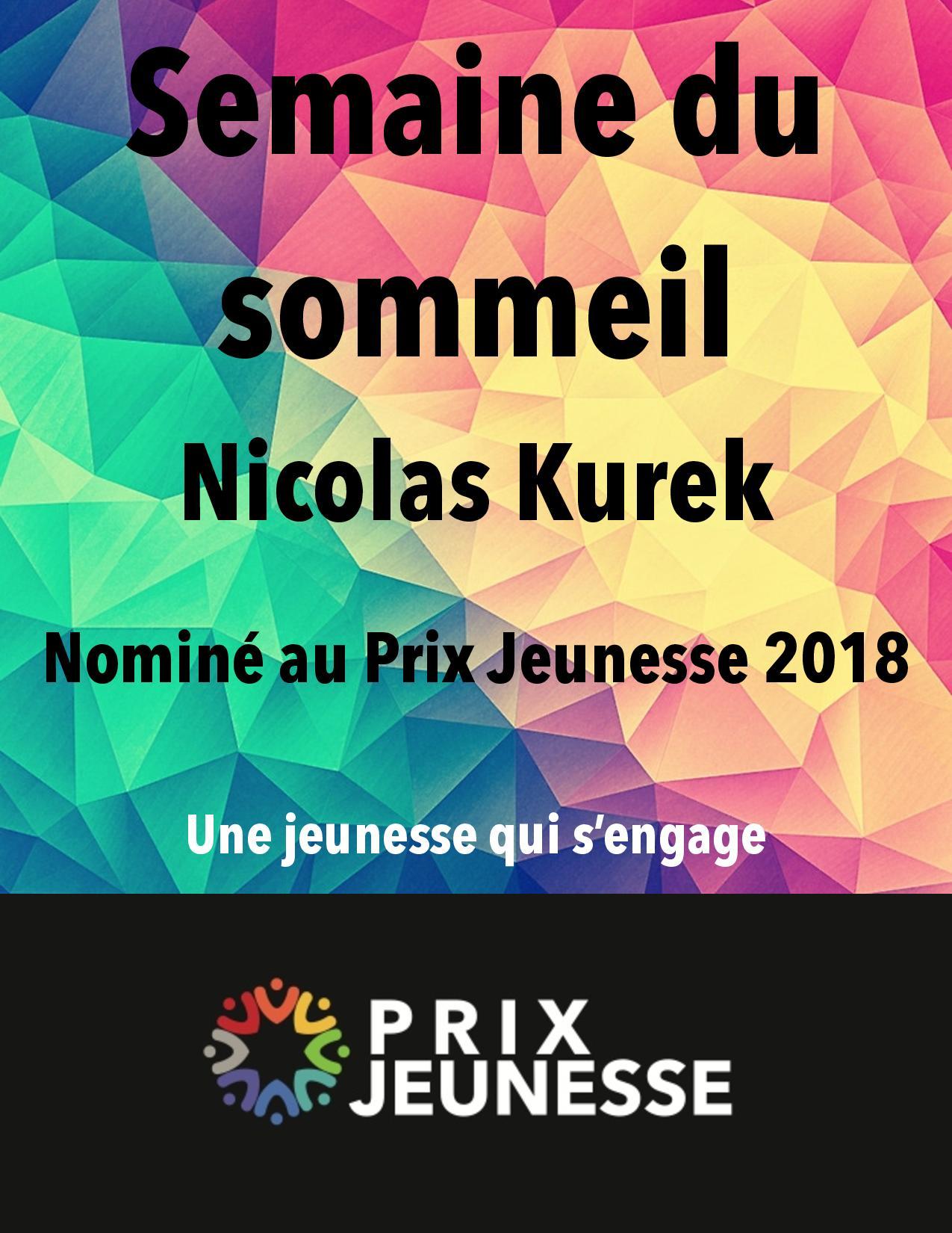 Candidat  Semaine du Sommeil - Nicolas Kurek