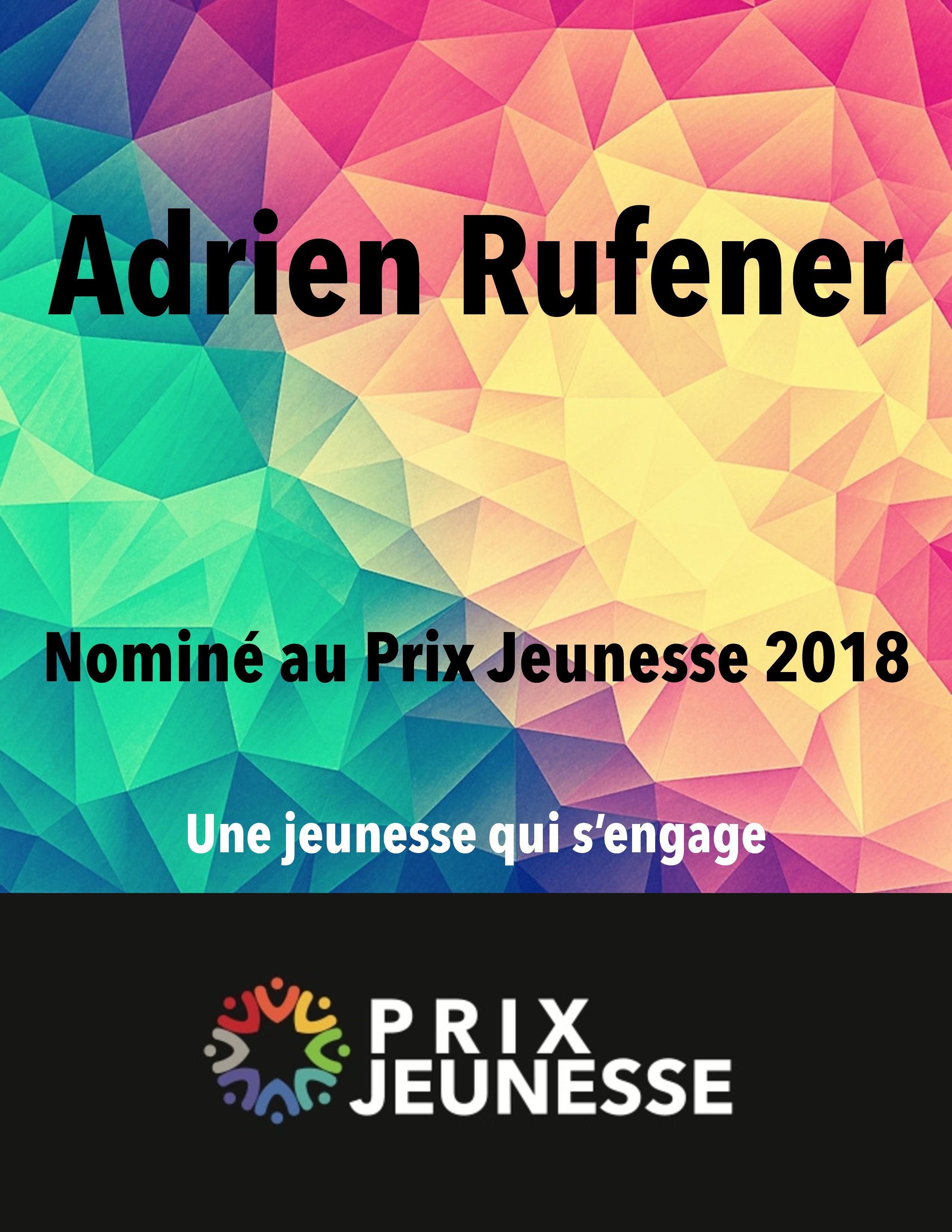 Candidat  Adrien Rufener