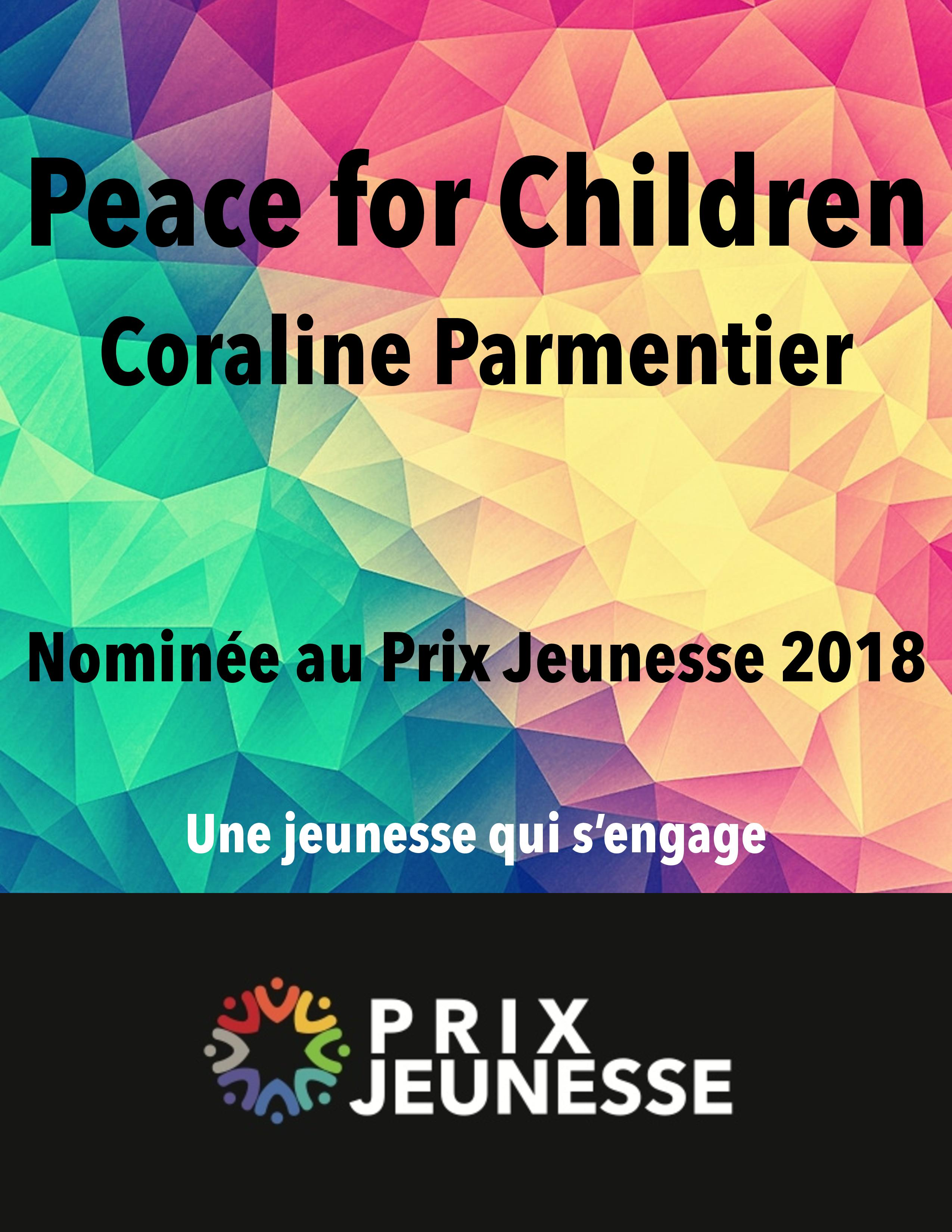 Candidat  Peace for Children - Coraline Parmentier